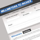 Millimeters to Inches